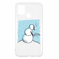 Чохол для Samsung M31 Snowman. It's Cold!