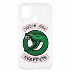 Чехол для Samsung M31 South side serpents stripe