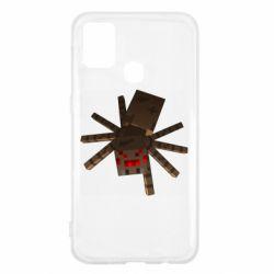 Чохол для Samsung M31 Spider from Minecraft