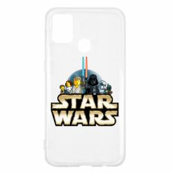 Чохол для Samsung M31 Star Wars Lego