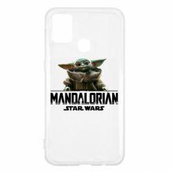 Чехол для Samsung M31 Star Wars Yoda beby