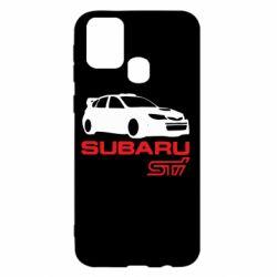 Чехол для Samsung M31 Subaru STI