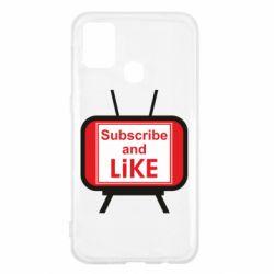 Чохол для Samsung M31 Subscribe and like youtube