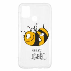 Чехол для Samsung M31 Сумасшедшая пчелка