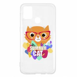 Чехол для Samsung M31 Summer cat