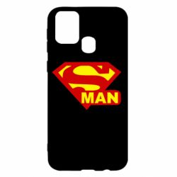 Чехол для Samsung M31 Super Man