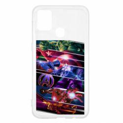 Чехол для Samsung M31 Super power avengers