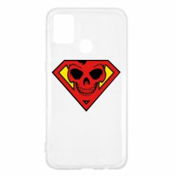 Чехол для Samsung M31 Superman Skull
