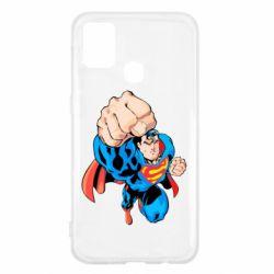 Чохол для Samsung M31 Супермен Комікс