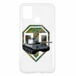 Чехол для Samsung M31 Tank and WOT game logo