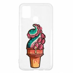 Чехол для Samsung M31 Tentacle ice cream