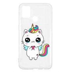 Чохол для Samsung M31 The cat is unicorn