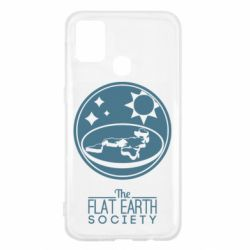Чехол для Samsung M31 The flat earth society