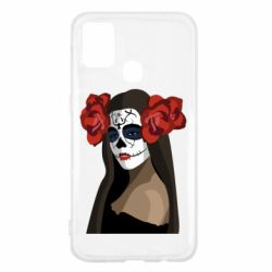 Чохол для Samsung M31 The girl in the image of the day of the dead