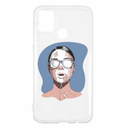 Чохол для Samsung M31 The girl is doused with milk