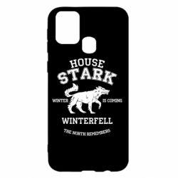 Чехол для Samsung M31 The North Remembers - House Stark