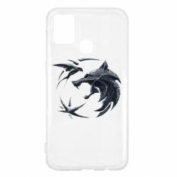 Чехол для Samsung M31 The  witcher: wolf and swallow