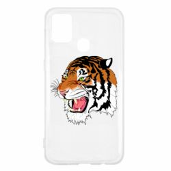 Чохол для Samsung M31 Tiger roars