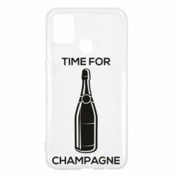 Чохол для Samsung M31 Time for champagne