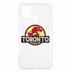 Чехол для Samsung M31 Toronto raptors park
