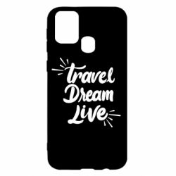Чехол для Samsung M31 Travel Dream Live