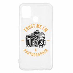 Чохол для Samsung M31 Trust me i'm photographer
