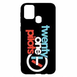 Чохол для Samsung M31 Twenty One Pilots Logo