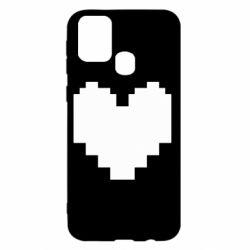Чохол для Samsung M31 Undertale heart
