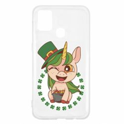 Чехол для Samsung M31 Unicorn patrick day