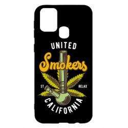 Чохол для Samsung M31 United smokers st relax California