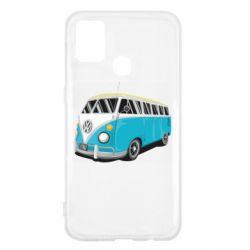 Чехол для Samsung M31 Vector Volkswagen Bus