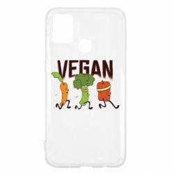Чохол для Samsung M31 Веган овочі