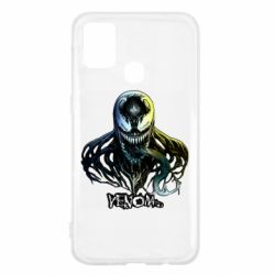 Чехол для Samsung M31 Venom Bust Art