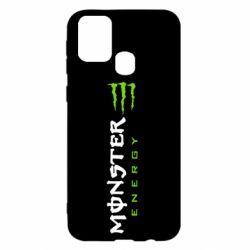 Чохол для Samsung M31 Вертикальний Monster Energy