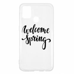 Чохол для Samsung M31 Welcome spring
