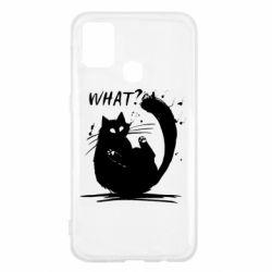 Чохол для Samsung M31 What cat
