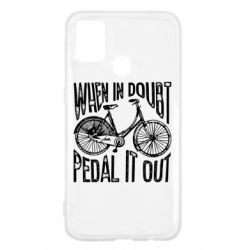 Чохол для Samsung M31 When in doubt pedal it out