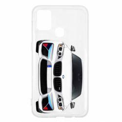 Чохол для Samsung M31 White bmw