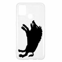Чохол для Samsung M31 Wild boar