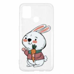 Чохол для Samsung M31 Winter bunny