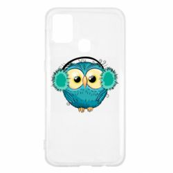 Чехол для Samsung M31 Winter owl