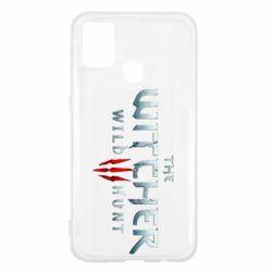 Чехол для Samsung M31 Witcher Logo