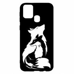 Чехол для Samsung M31 Wolf And Fox