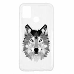Чохол для Samsung M31 Wolf Art