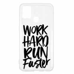 Чохол для Samsung M31 Work hard run faster
