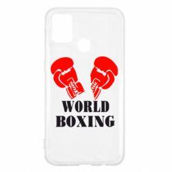 Чехол для Samsung M31 World Boxing