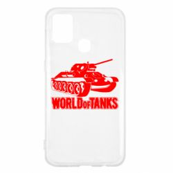 Чехол для Samsung M31 World Of Tanks Game