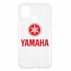 Чехол для Samsung M31 Yamaha Logo(R+W)
