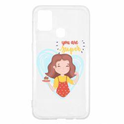 Чохол для Samsung M31 You are super girl