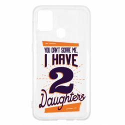 Чехол для Samsung M31 You can't scare me i have 2 daughters